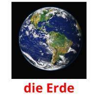 die Erde picture flashcards