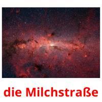 die Milchstraße picture flashcards