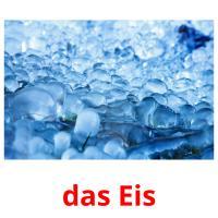 das Eis picture flashcards