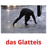 das Glatteis picture flashcards