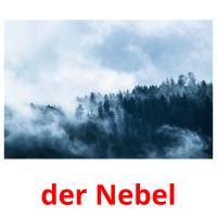 der Nebel picture flashcards