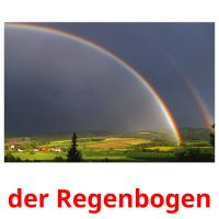 der Regenbogen picture flashcards