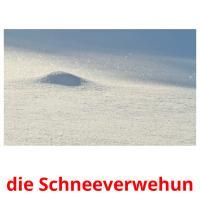 die Schneeverwehun picture flashcards