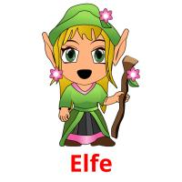 Elfe picture flashcards