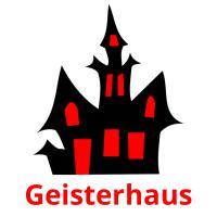 Geisterhaus picture flashcards