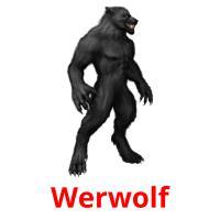 Werwolf picture flashcards