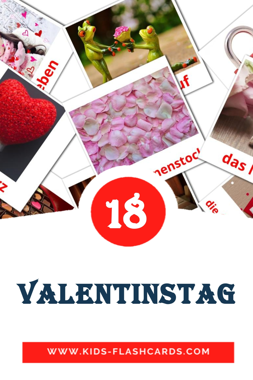 18 der Tag  den allen Lieben Picture Cards for Kindergarden in german