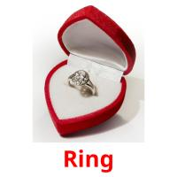 Ring picture flashcards