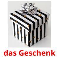 das Geschenk picture flashcards