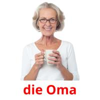 die Oma picture flashcards