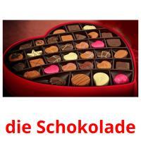 die Schokolade picture flashcards