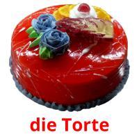 die Torte picture flashcards