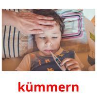 kümmern picture flashcards