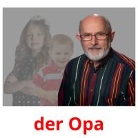 der Opa picture flashcards