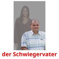 der Schwiegervater picture flashcards