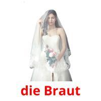 die Braut picture flashcards