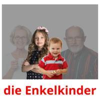die Enkelkinder picture flashcards