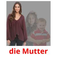 die Mutter picture flashcards