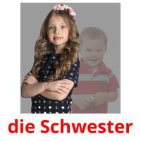 die Schwester picture flashcards