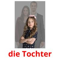 die Tochter picture flashcards