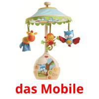 das Mobile picture flashcards