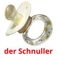 der Schnuller picture flashcards