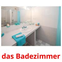 das Badezimmer picture flashcards