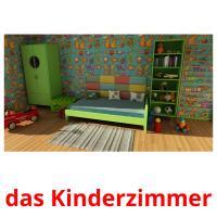 das Kinderzimmer picture flashcards