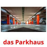 das Parkhaus picture flashcards
