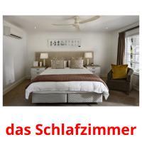 das Schlafzimmer picture flashcards