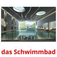 das Schwimmbad picture flashcards