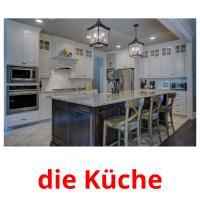 die Küche picture flashcards
