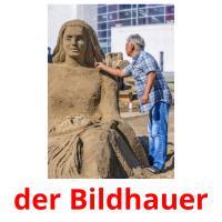 der Bildhauer picture flashcards