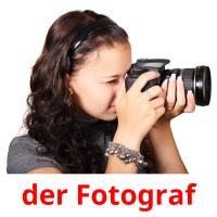 der Fotograf picture flashcards