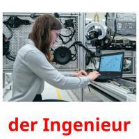 der Ingenieur picture flashcards