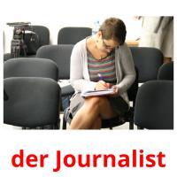 der Journalist picture flashcards