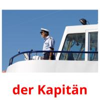 der Kapitän picture flashcards