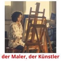 der Maler, der Künstler picture flashcards