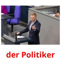 der Politiker picture flashcards
