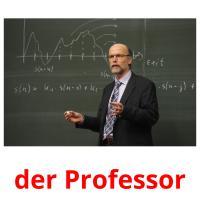 der Professor picture flashcards