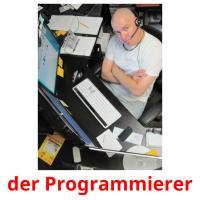der Programmierer picture flashcards
