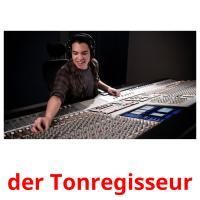 der Tonregisseur picture flashcards