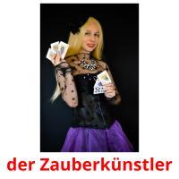der Zauberkünstler picture flashcards