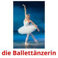 die Ballettänzerin picture flashcards