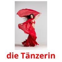 die Tänzerin picture flashcards