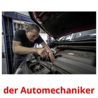 der Automechaniker picture flashcards
