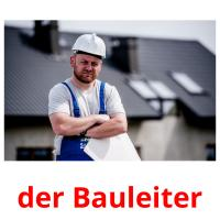 der Bauleiter picture flashcards