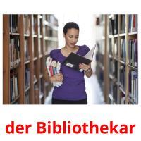 der Bibliothekar picture flashcards