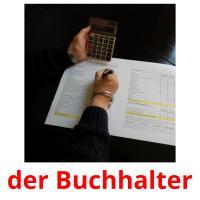 der Buchhalter picture flashcards