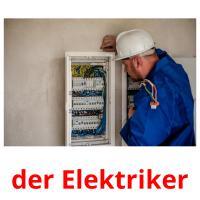 der Elektriker picture flashcards